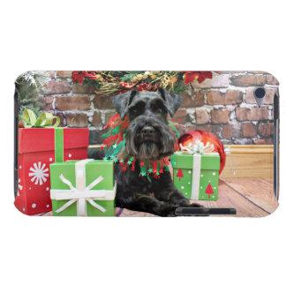 Christmas - Schnauzer - Fergie iPod Touch Case-Mate Case