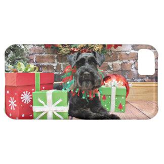 Christmas - Schnauzer - Fergie iPhone 5C Cover