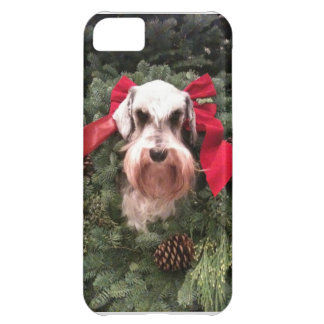 Christmas Schnauzer - iphone cover Cover For iPhone 5C