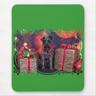 Christmas - Schnauzer - Sophie Mouse Pad