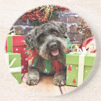 Christmas - Schnoodle - Dexter Drink Coaster