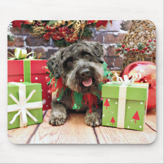Christmas - Schnoodle - Dexter Mouse Pad