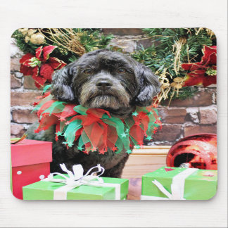 Christmas - Schnoodle - Rookie Mousepads