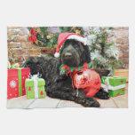 Christmas - Schnoodle - Zeus Towels
