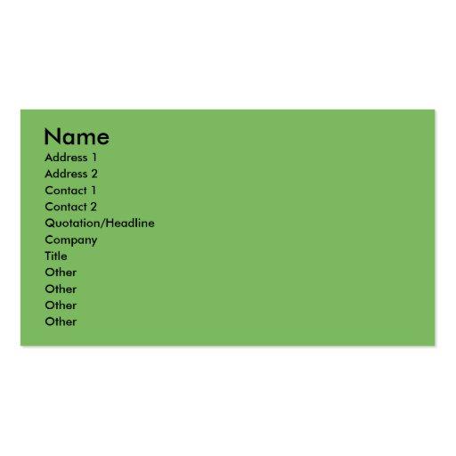 Christmas - Schnorkie - Ginny Business Card Template