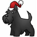 Christmas Scottish Terrier Ornament