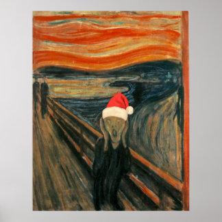 Christmas Scream Poster