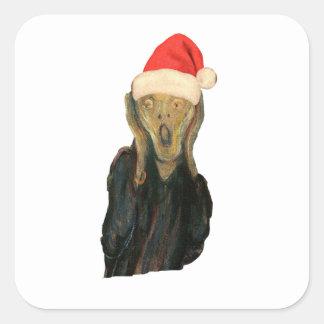 Christmas Scream Stickers