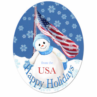 Christmas Sculpture Key Chain for Troops