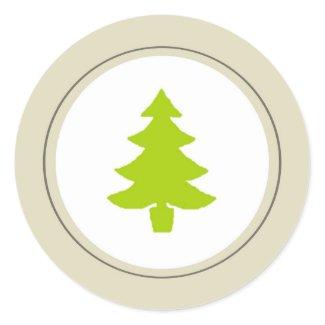 Christmas Seal sticker