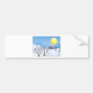 Christmas Season Bumper Sticker
