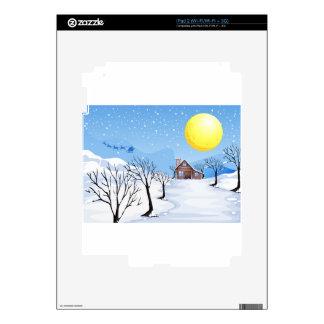 Christmas Season iPad 2 Decal