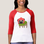 Christmas Season Pug T Shirts