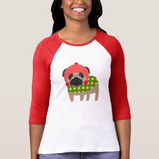Christmas Season Pug T Shirts