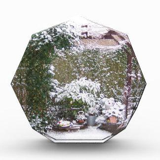 Christmas Season, Snow in the garden Award