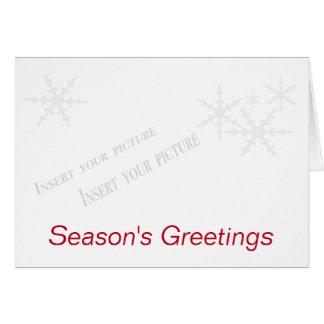 Christmas Season's Greetings Card