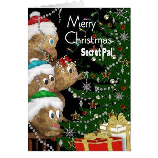 CHRISTMAS - Secret Pal - POTATO FAMILY Collection Card