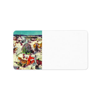 Christmas  Self Adhesive Label Stickers