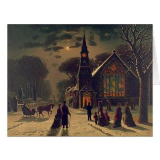 Christmas Service 1878 Card