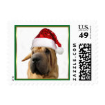 Christmas Shar Pei dog Postage