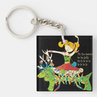 Christmas Share the Jolly Keychain