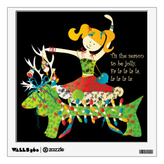 Christmas Share the Jolly Room Stickers