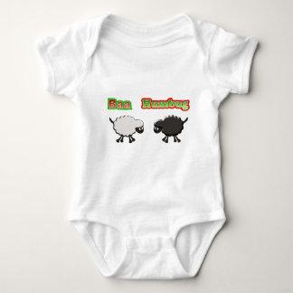 Christmas Sheep Baa Humbug Design Baby Bodysuit
