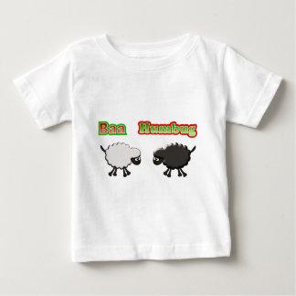Christmas Sheep Baa Humbug Design Baby T-Shirt