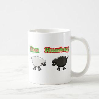 Christmas Sheep Baa Humbug Design Coffee Mug