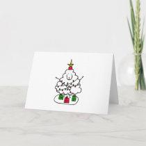 Christmas Sheep Holiday Card