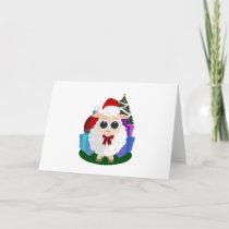 Christmas - Sheep Holiday Card