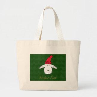 Christmas sheep Josef glad celebration Jumbo Tote Bag