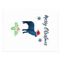 Christmas Sheep Postcard