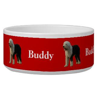 Christmas Sheepdog Bowl