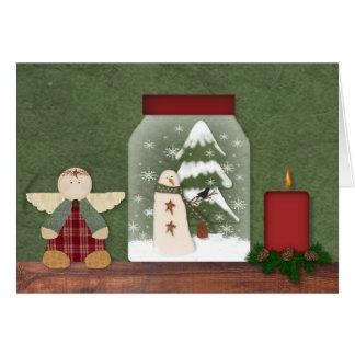 Christmas Shelf Christmas Card