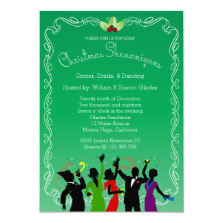 Christmas Shenanigans Party Invitation