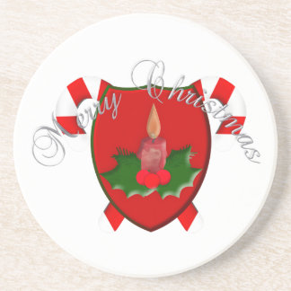 Christmas Shield Coaster