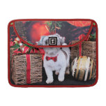 Christmas - Shih Tzu - Boomer Sleeves For MacBook Pro