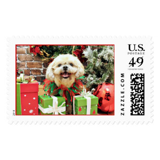Christmas - Shih Tzu - Cubby Stamps
