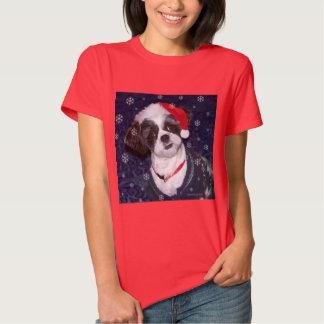 Christmas Shih Tzu Dog T-Shirt