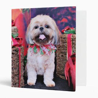 Christmas - Shih Tzu - Lexi Binders