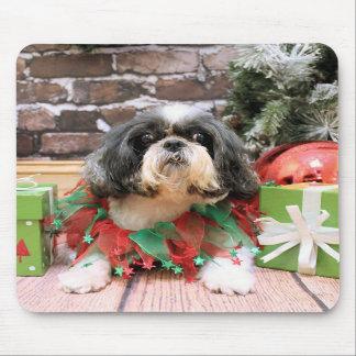 Christmas - Shih Tzu - Maggie Mousepad