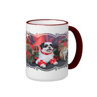 Christmas - Shih Tzu - Mishka Mug