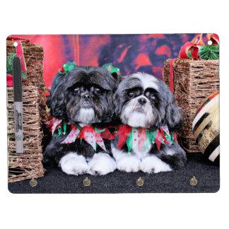 Christmas - Shih Tzu - Ruffles and Riley Dry-Erase Whiteboards