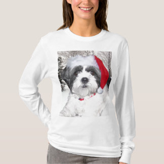 Christmas Shih Tzu T-Shirt