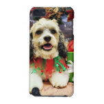 Christmas - Shih Tzu X - Baxter iPod Touch (5th Generation) Covers