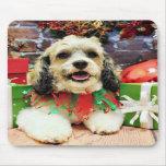 Christmas - Shih Tzu X - Baxter Mousepads