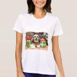 Christmas - Shih Tzu X - Baxter Tee Shirt