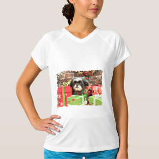 Christmas - Shih Tzu - Yogi T-Shirt