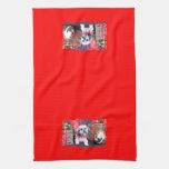 Christmas - ShihPoo - Gizmo Towel